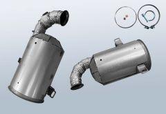Catalytic Converter CITROEN C5 II Break 1.6 HDI 115 (x7)