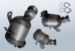 Catalytic Converter MERCEDES BENZ C-Klasse C 220 CDI 4matic (W204084)