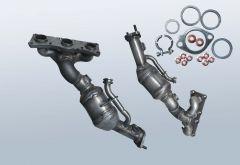 Catalytic Converter BMW 530i (E61)