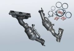 Catalytic Converter BMW 530xi (E60)