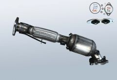 Catalytic Converter FORD S-Max 2.0 EcoBoost (WA6)