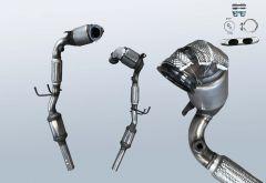 Catalytic Converter AUDI A1 1.4 TFSI (8X)