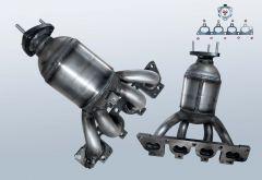 Catalytic Converter OPEL Corsa C 1.4 16v (X01)