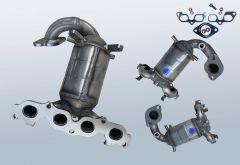 Catalytic Converter FORD Fiesta V 1.25 16v (CBK)