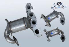 Catalytic Converter FORD Fiesta V 1.6 16v (CBK)