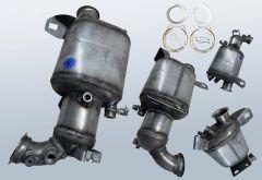 Diesel Particulate Filter VW T5 2.0 TDI (7HA 7HH 7EA 7EH)