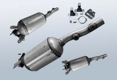 Diesel Particulate Filter RENAULT Megane II 1.9 dCi (BM0/1 CM0/1)