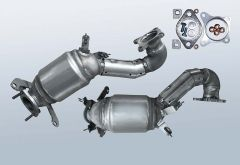 Catalytic Converter VW Scirocco 1.4 TSI (13)