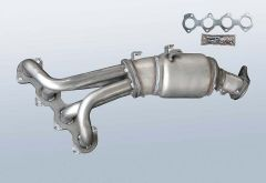 Catalytic Converter MERCEDES BENZ SLK SLK200 Kompressor (R171442)