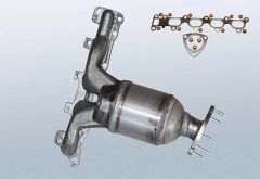 Catalytic Converter OPEL Astra G 1.6 Twinport (F07)