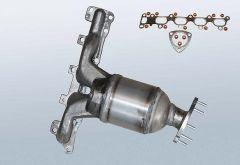 Catalytic Converter OPEL Astra G 1.6 Twinport (F69)