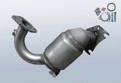 Catalytic Converter RENAULT Modus 1.2 16v TCe (J77)