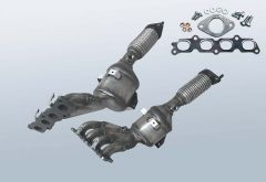 Catalytic Converter FORD Fiesta VI 1.25 16v (CB1)