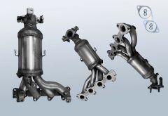 Catalytic Converter HYUNDAI I10 1.1 12v (PA)