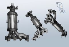 Catalytic Converter KIA Picanto 1.1 12v (SA)