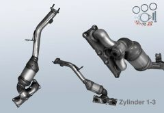 Catalytic Converter BMW 3 Coupe 325xi (E92N)