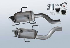 Diesel Particulate Filter VW Touareg 3.0 TDI (7LA,7L6,7L7)