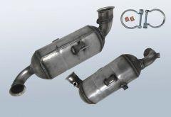 Diesel Particulate Filter CITROEN C5 II 1.6 HDI 115 (x7)