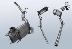 Diesel Particulate Filter AUDI A3 1.6TDI BM (8P1)