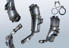 Diesel Particulate Filter MERCEDES BENZ S-Klasse S 320 CDI 4matic (W221180)