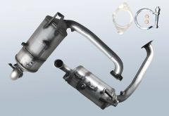 Diesel Particulate Filter MAZDA 3 1.6 DI Turbo (BK)