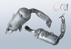 Diesel Particulate Filter FORD S-MAX 1.6 TDCI (WA6)