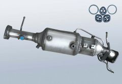 Diesel Particulate Filter MAZDA 3 2.0 CD (BK)
