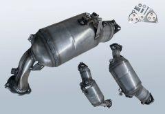 Diesel Particulate Filter AUDI Q5 2.0 TDI Quattro (8R)