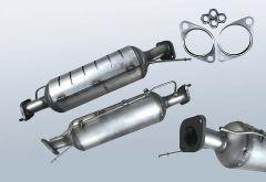 Diesel Particulate Filter KIA Carens 2.0 CRDI (UN)