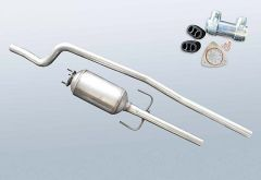 Diesel Particulate Filter OPEL Combo 1.3 CDTI