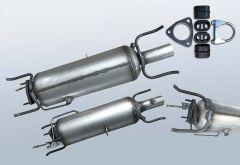 Diesel Particulate Filter OPEL Vectra C 1.9 CDTI