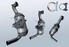 Diesel Particulate Filter OPEL Corsa D 1.3 CDTI