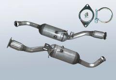 Diesel Particulate Filter OPEL Vivaro 2.0CDTI (J7)