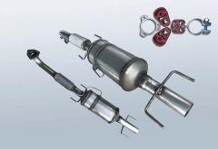 Diesel Particulate Filter OPEL Vectra C 3.0 CDTI