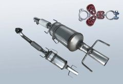 Diesel Particulate Filter OPEL Signum 3.0 CDTI