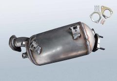 Diesel Particulate Filter AUDI A4 2.0 TDI (8EC,B7)