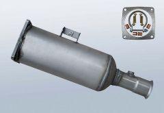 Diesel Particulate Filter CITROEN C8 2.2 Hdi (EA,EB)