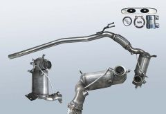Diesel Particulate Filter VW Passat 2.0 TDI 4motion (3C2,B6)