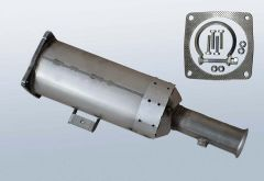 Diesel Particulate Filter CITROEN Jumpy II 2.0 HDI (EA_EB)