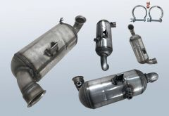 Diesel Particulate Filter CITROEN DS3 1.4 HDi