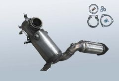 Diesel Particulate Filter VW Sharan II 2.0 TDI BMT