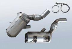 Diesel Particulate Filter BMW 530d (E60 LCI)