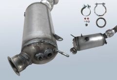 Diesel Particulate Filter BMW X3 20d (F25)
