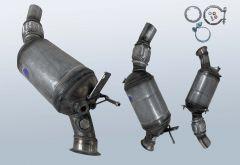 Diesel Particulate Filter BMW 116d (E81)