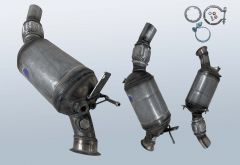 Diesel Particulate Filter BMW 3 Coupe 320d (E92N)