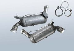 Diesel Particulate Filter MERCEDES BENZ C 200 T CDI BlueE (S204201)
