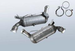 Diesel Particulate Filter MERCEDES BENZ C 200 CDI BlueEFF (W204001)