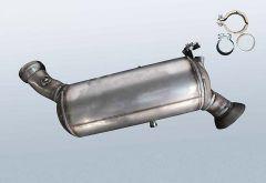 Diesel Particulate Filter MERCEDES BENZ E 200 T CDI (S211207)