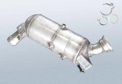 Diesel Particulate Filter MERCEDES BENZ C 200 T CDI (S203207)