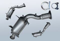 Diesel Particulate Filter VW Touareg 2.5 R5 TDI (7LA/7L6/7L7)